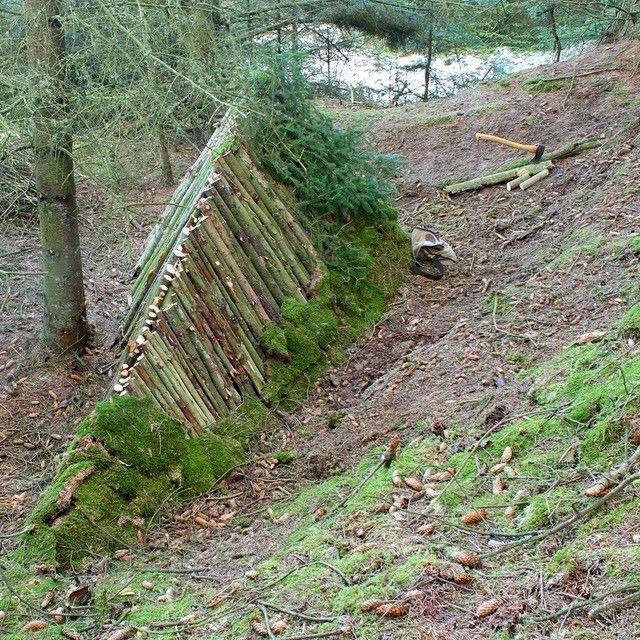 домик в лесу своими руками